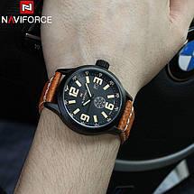 Часы мужские Naviforce NF9057M коричневые eps-1073, фото 3