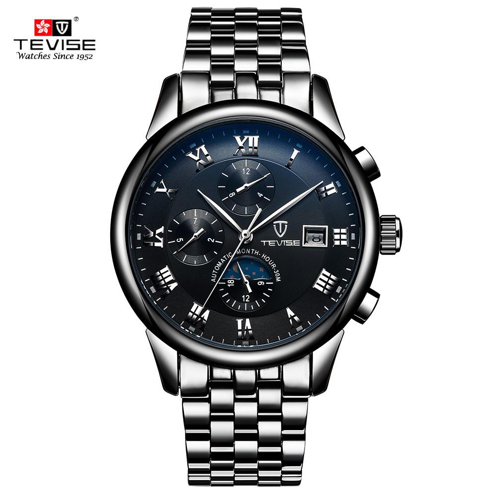 Часы мужские Tevise London Black eps-1077