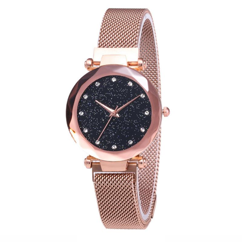 Часы женские Starry Sky Watch Mode Gold