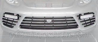 MANSORY set of front carbon grill exposed for Porsche Panamera