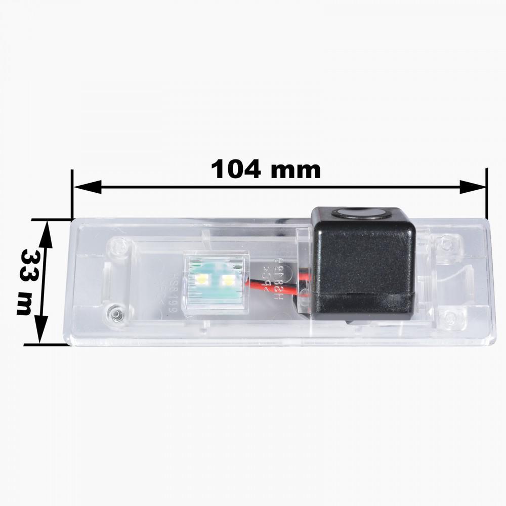 Камера заднего вида Prime-X CA-1370 BMW