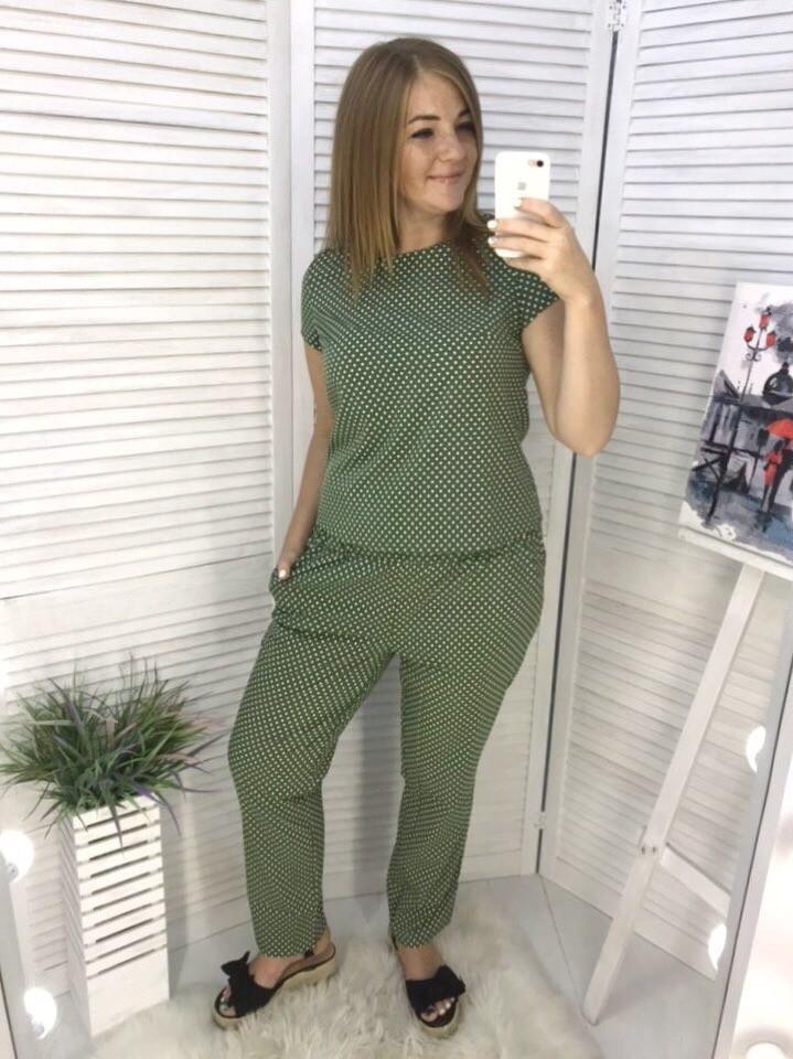 Женский летний костюм батальный