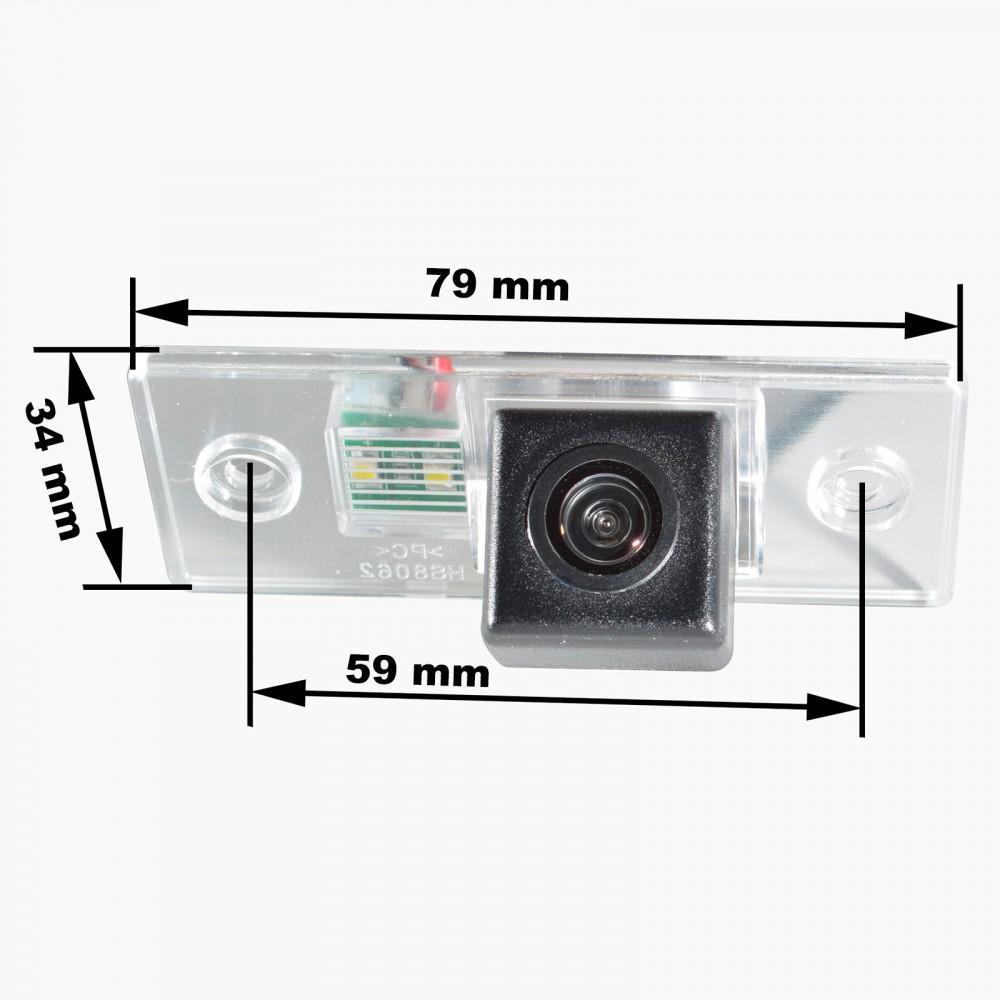 Камера заднего вида Prime-X CA-9583 Skoda