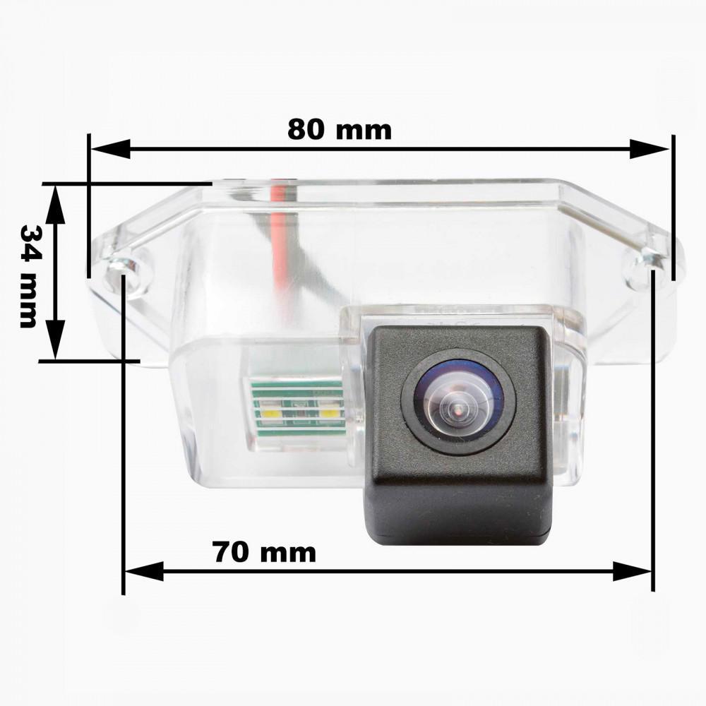 Камера заднего вида Prime-X CA-9594 Mitsubishi
