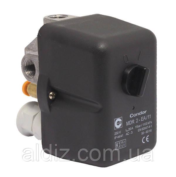Реле давления (Condor MDR-2) прессостат, автоматика) 220В