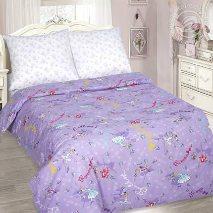 Постельное белье Балерина поплин ТМ Комфорт текстиль (в детскую кроватку), фото 2