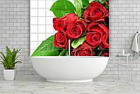 Керамическая фотоплитка Print Color Цветы и листья Розы