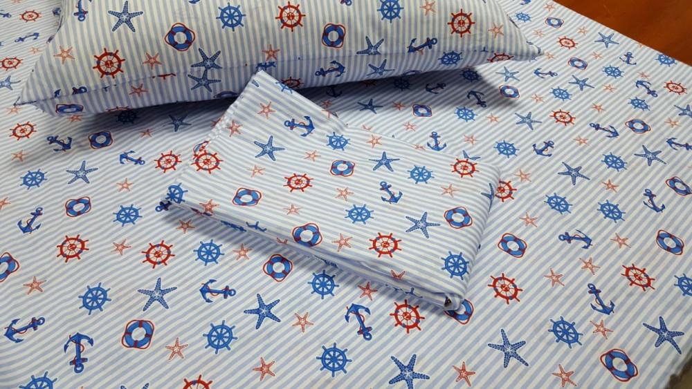 Постельное белье Круиз поплин ТМ Комфорт текстиль (подростковый)