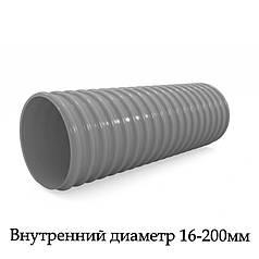 Шланг армированный спиральный ПВХ супер-эластичный морозостойкий воздуховод AIRWAY ELASTIC (SEM)