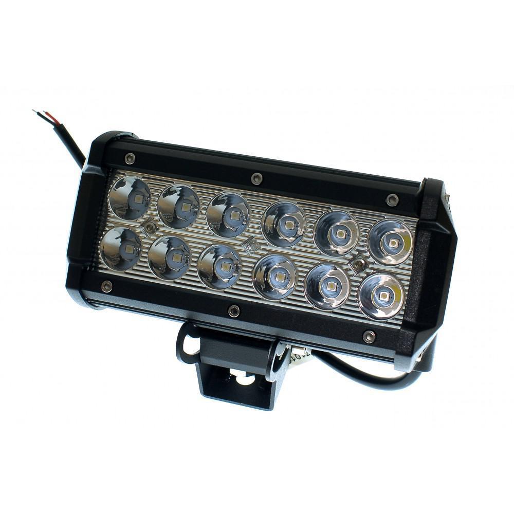 Светодиодная фара AllLight C-36W 12chip CREE 9-30V нижний крепеж