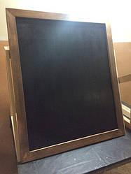Меловая доска в рамке 1200х1200 мм Меню для кафе, заведения. Рекламное меню, меловая доска для меню