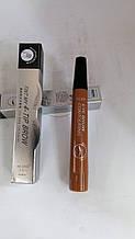 Контуринг карандаш для бровей водонепроницаемый - кончик в виде вилки, тушь~ тату для бровей