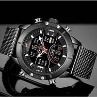 Мужские наручные часы Naviforce Tesla Black NF9153
