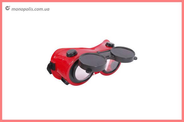 Очки сварочные Intertool - откидные Г2, фото 2