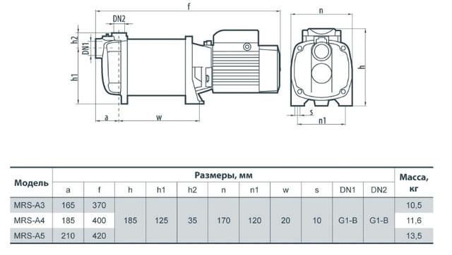 Насос Sprut MRS-A5