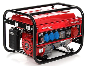 Трехфазный генераторKraft&Dele KD130 KW6500 4.8 кВт