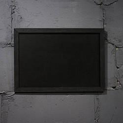 Меловая доска в рамке горизонтально 1500х1200 мм Меню для кафе, заведения. Рекламное меню, меловая доска меню