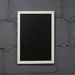 Меловая доска в рамке вертикальная 2000х1000 мм Меню для кафе, заведения. Рекламное меню, меловая доска меню