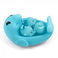Игрушка для ванной ZT8891 Уточка, пищалка (Дельфинчик)