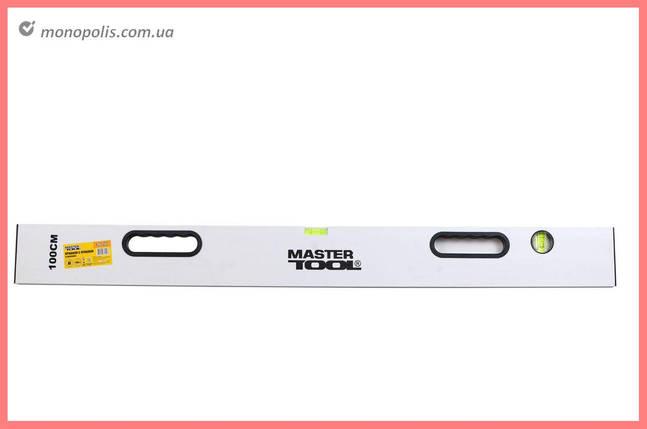 Правило-уровень Mastertool - с ручками 2000 мм, фото 2