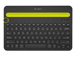 Клавиатура Bluetooth Logitech K480 итальянская черная