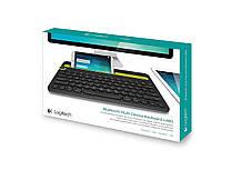 Клавиатура Bluetooth Logitech K480 итальянская черная, фото 3