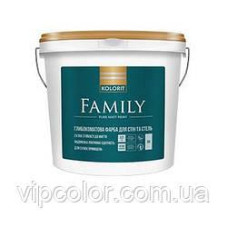 Kolorit Family абсолютно матовая интерьерная краска А 2,7л