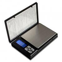 Карманные ювелирные электронные весы Kronos Notebook Scale от 0.01 г до 500 г Черный (sp2151)