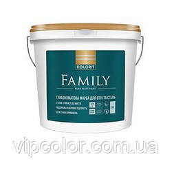 Kolorit Family матовая интерьерная краска А 9л