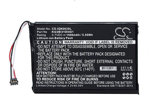 Аккумулятор Cameron Sino CS-IQN263SL для iRobot Braava 380 / Braava 380T / 5200B , фото 2
