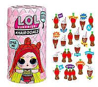 Игровой набор с куклой L. O. L. S5 W2 серии Hairgoals Модное Перевоплощение