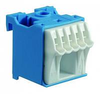Блок дополнительных N-клемм 1x16 mm2 + 5x4 mm2, ширина 30мм., KN06N, QiuckConnect, Hager