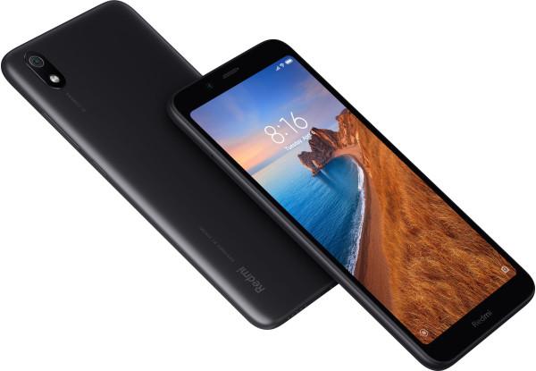 Смартфоны Xiaomi Redmi 7A 2 Светодиодная Отсутствует Поддержка USB-host Фонарик Датчик приближения Гироскоп освещенности Компас Несъемный до 256 Гб Пластик Android microSD Nano-SIM Емкостный Смартфон Моноблок Черный