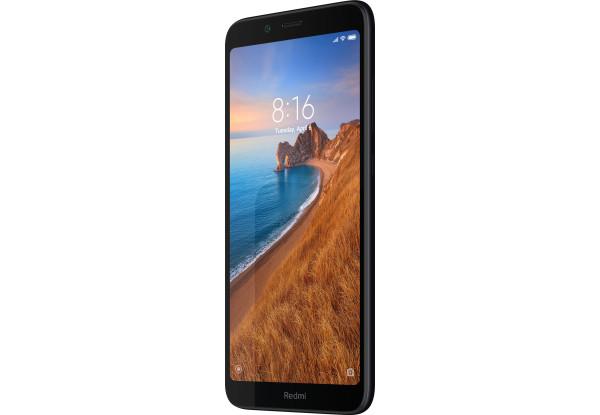 Смартфоны Xiaomi Redmi 7A 2 Светодиодная Отсутствует Поддержка USB-host Фонарик Датчик приближения Гироскоп освещенности Компас Несъемный до 256 Гб Пластик Android microSD Nano-SIM Емкостный Смартфон Моноблок Черный Qualcomm SDM439 Snapdragon 439 (12 nm)