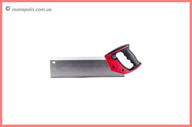 """Ножовка по дереву пасовочная Intertool - 350 мм, 12T х 1"""", фото 2"""