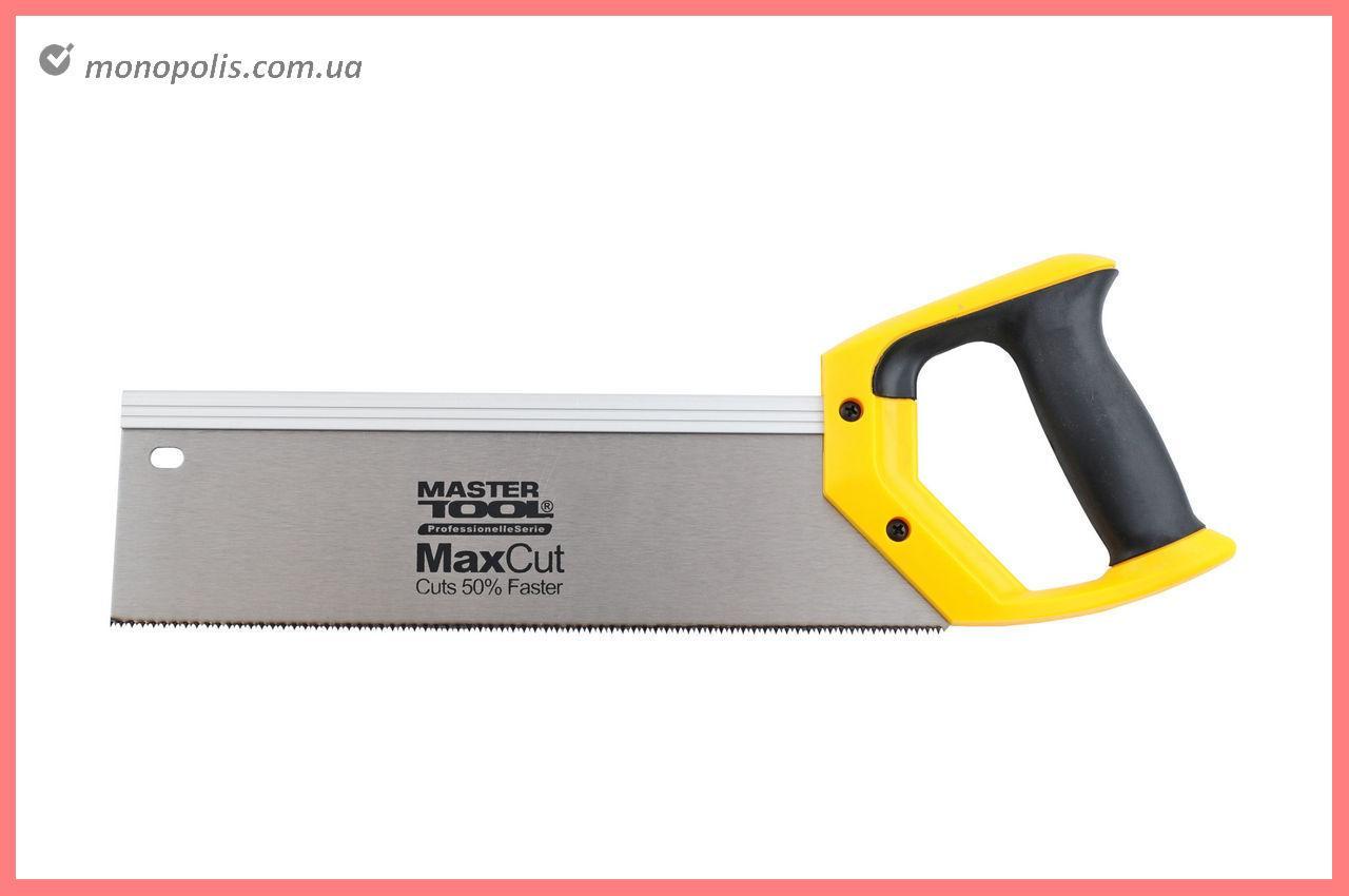 "Ножовка по дереву пасовочная Mastertool - 325 мм, 13T х 1"", тройная заточка"
