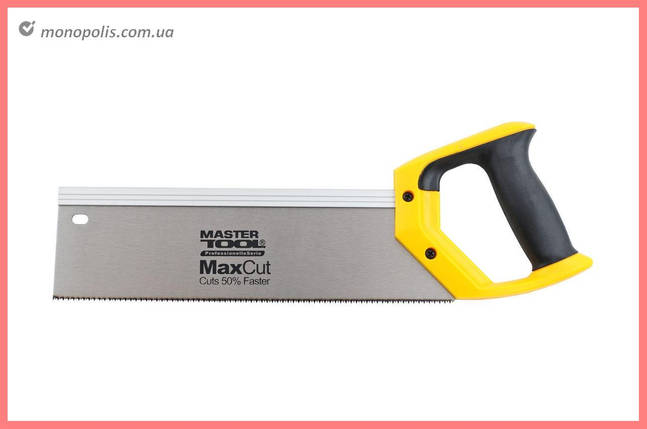 "Ножовка по дереву пасовочная Mastertool - 325 мм, 13T х 1"", тройная заточка, фото 2"