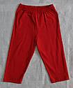Летняя пижама для мальчиков Go Go красная: футболка и штаны (OZTAS, Турция) , фото 4