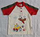 Летняя пижама для мальчиков Go Go красная: футболка и штаны (OZTAS, Турция) , фото 3