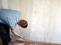 Шпаклевка потолка под поклейку обоев, высота до 3 м