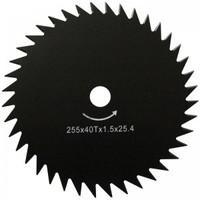 Нож для мотокосы WERK  255*25,4*1,6*40Т