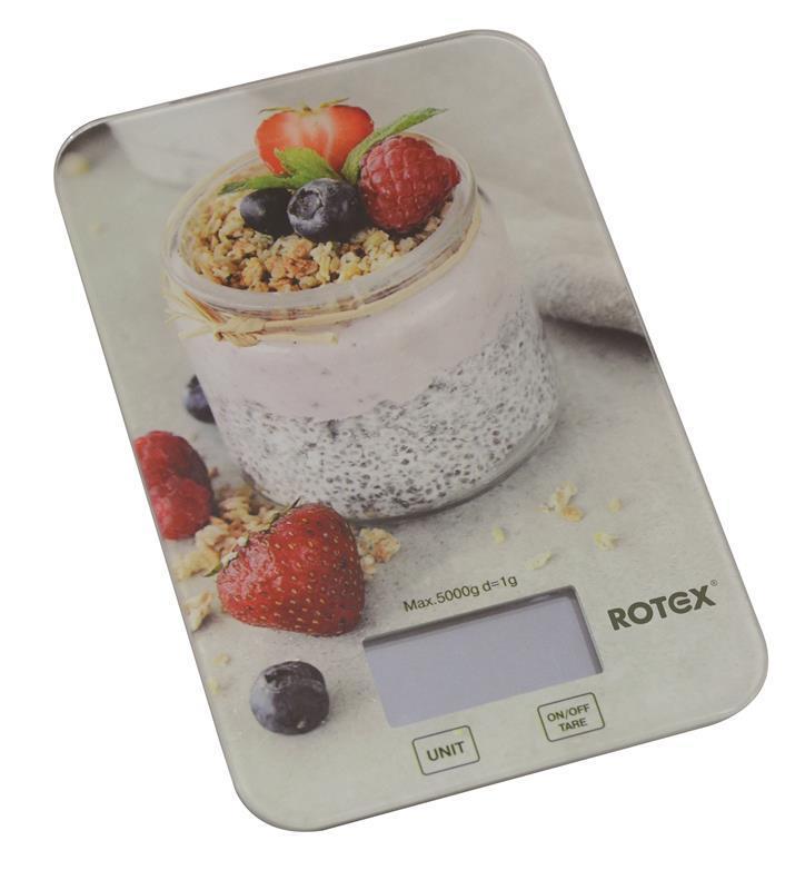 Вага кухонна ROTEX RSK14-P Yogurt