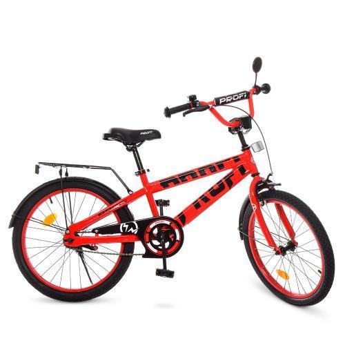 Велосипед детский PROF1 20Д. T20171 Flash красный
