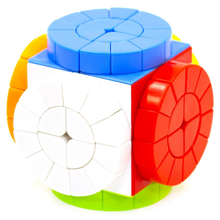 Кубик головоломка MoZhi Time Machine, Машина часу, кольоровий пластик