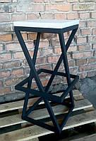 Барные стулья в стиле лофт. На металлической основе. Барный  табурет. Стул для кофейни.
