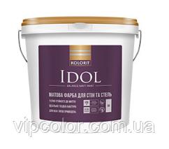 Kolorit Idol особо стойкая к мытью латексная краска для внутренних работ А 2,7л