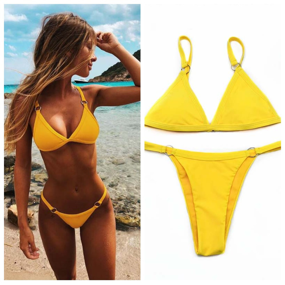 25a97a43bfdcc Купальник раздельный желтый, цена 590 грн., купить в Одессе — Prom ...