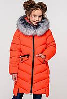 Детское зимнее пальто на девочку Афина-2, р-ры 26,28,40,42