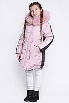 Детский зимний пуховик для девочки DT-8277- 15, фото 3