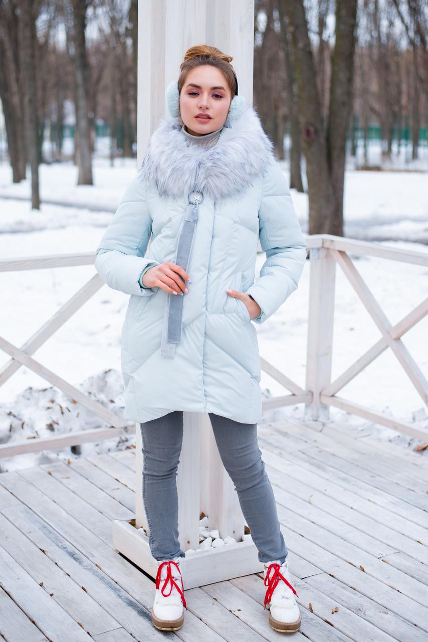 Женское зимнее пальто Эжени